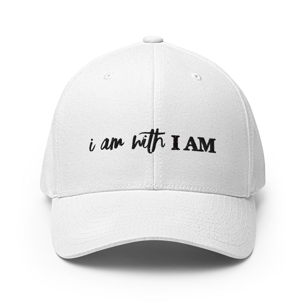 White - I Am With I Am Twill Cap