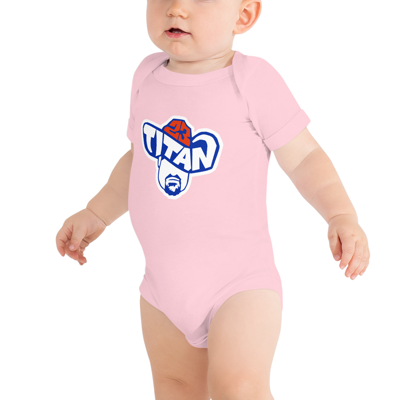 Titan23 Baby Short Sleeve One Piece