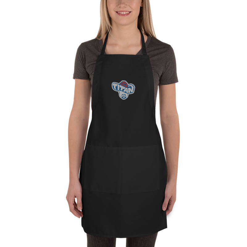 Titan23 Embroidered Chef's Apron