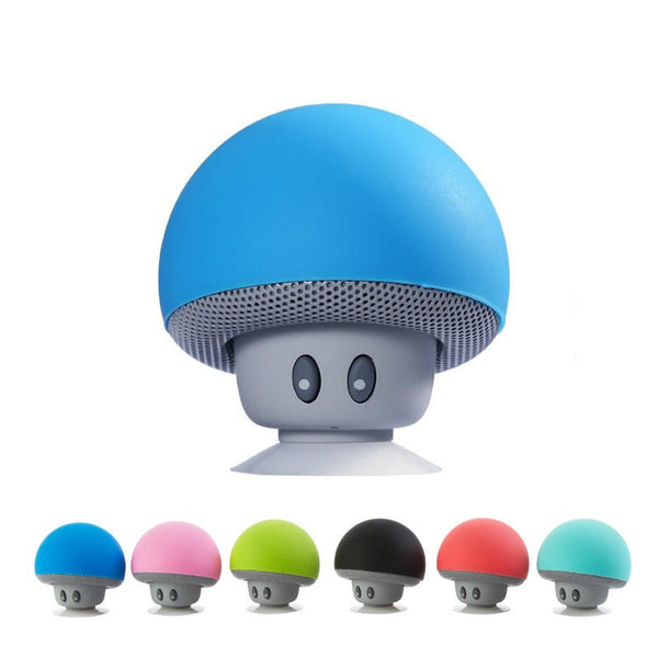 Wasserdichter Mini-Cartoon-Pilz Bluetooth Lautsprecher