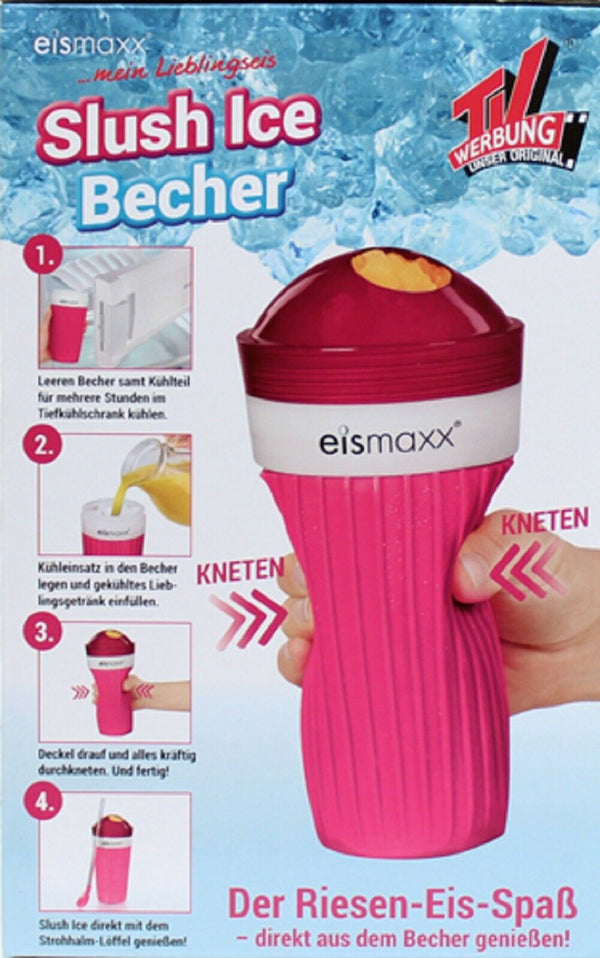 Slush Eis Becher Set