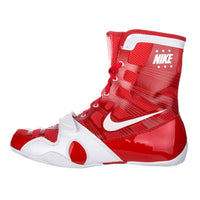 Nike HyperKO Boxing Boots | Red / White - For The Fighter - Boxing BJJ MMA Muay Thai Equipment Store