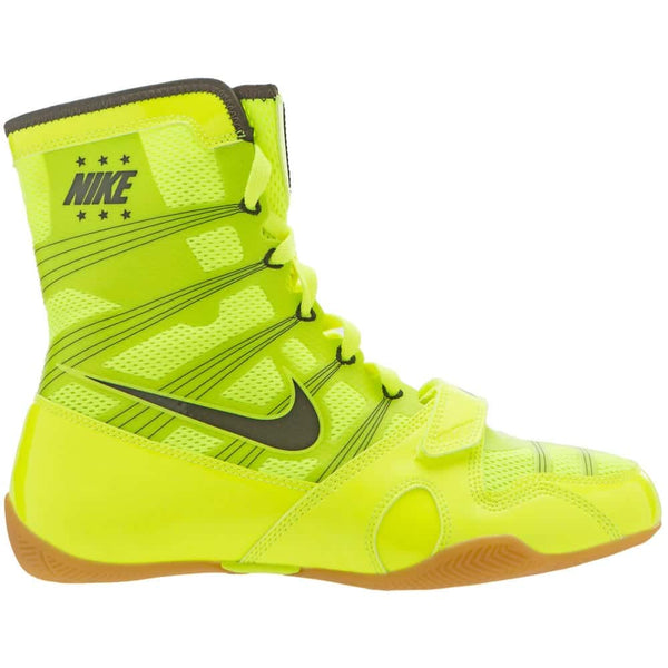 Nike HyperKO Boxing Boots | Fluro Green - For The Fighter - Boxing BJJ MMA Muay Thai Equipment Store