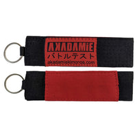 AKADAMiE BJJ Keyring (Black) - For The Fighter - Boxing BJJ MMA Muay Thai Equipment Store