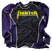 Purple MMA / BJJ Rashguards - For The Fighter - Boxing BJJ MMA Muay Thai Equipment Store