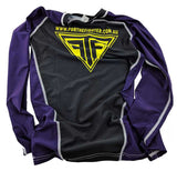 Purple MMA / BJJ Rashguards - For The Fighter