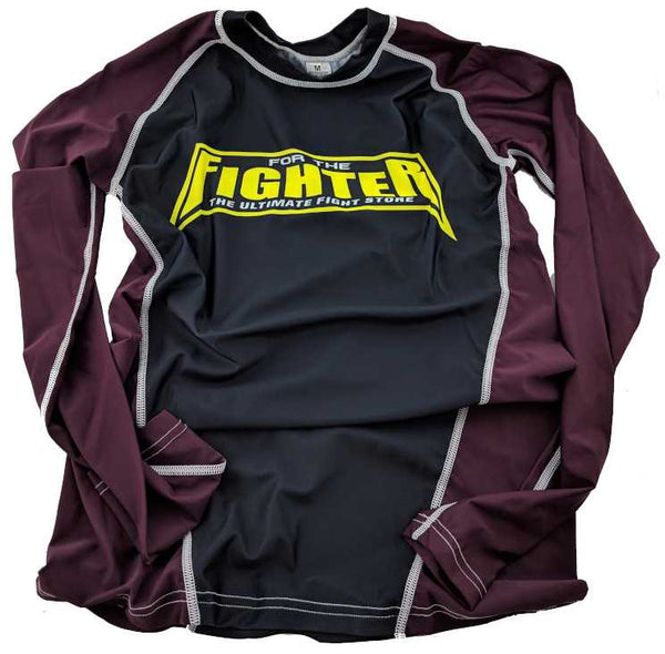 Brown MMA / BJJ Rashguards - For The Fighter