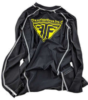 Black MMA / BJJ Rashguards - For The Fighter - Boxing BJJ MMA Muay Thai Equipment Store