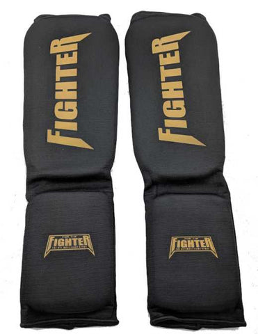 FTF Cotton Shinpads - For The Fighter - Boxing BJJ MMA Muay Thai Equipment Store