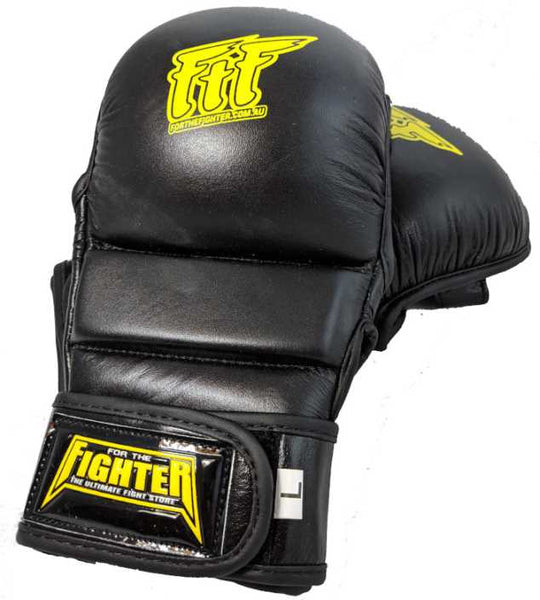 FTF Hybrid MMA Gloves - For The Fighter - Boxing BJJ MMA Muay Thai Equipment Store