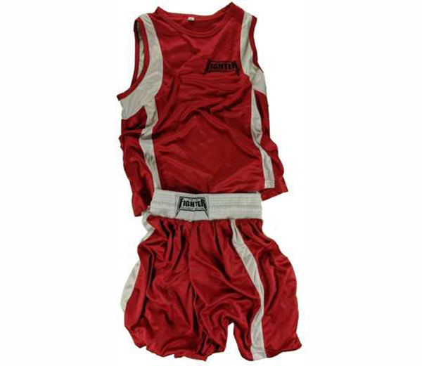 Red Amateur Boxing Outfits - For The Fighter