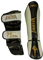 Muay Thai and MMA Shinpads - White - For The Fighter