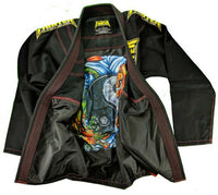 FTF Brazilian Jiu Jitsu BJJ Gi - Kids Black - For The Fighter