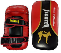 FTF Muay Thai and MMA Thai Pads - Red - For The Fighter - Boxing BJJ MMA Muay Thai Equipment Store