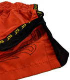 Muay Thai Shorts (Gold) - For The Fighter - Boxing BJJ MMA Muay Thai Equipment Store