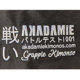 AKADAMiE 001 Gi - Adults Black - For The Fighter - Boxing BJJ MMA Muay Thai Equipment Store