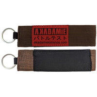 AKADAMiE BJJ Keyring (Brown) - For The Fighter