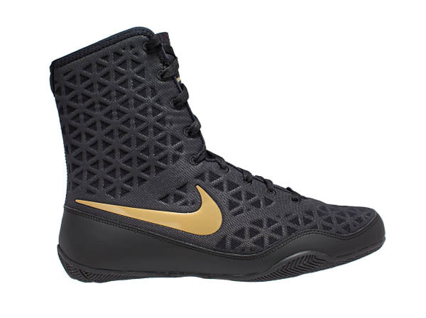 Nike KO Boxing Boots | Black - For The Fighter - Boxing BJJ MMA Muay Thai Equipment Store