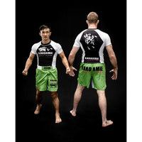 AKADAMiE 001 Rashguard - For The Fighter - Boxing BJJ MMA Muay Thai Equipment Store