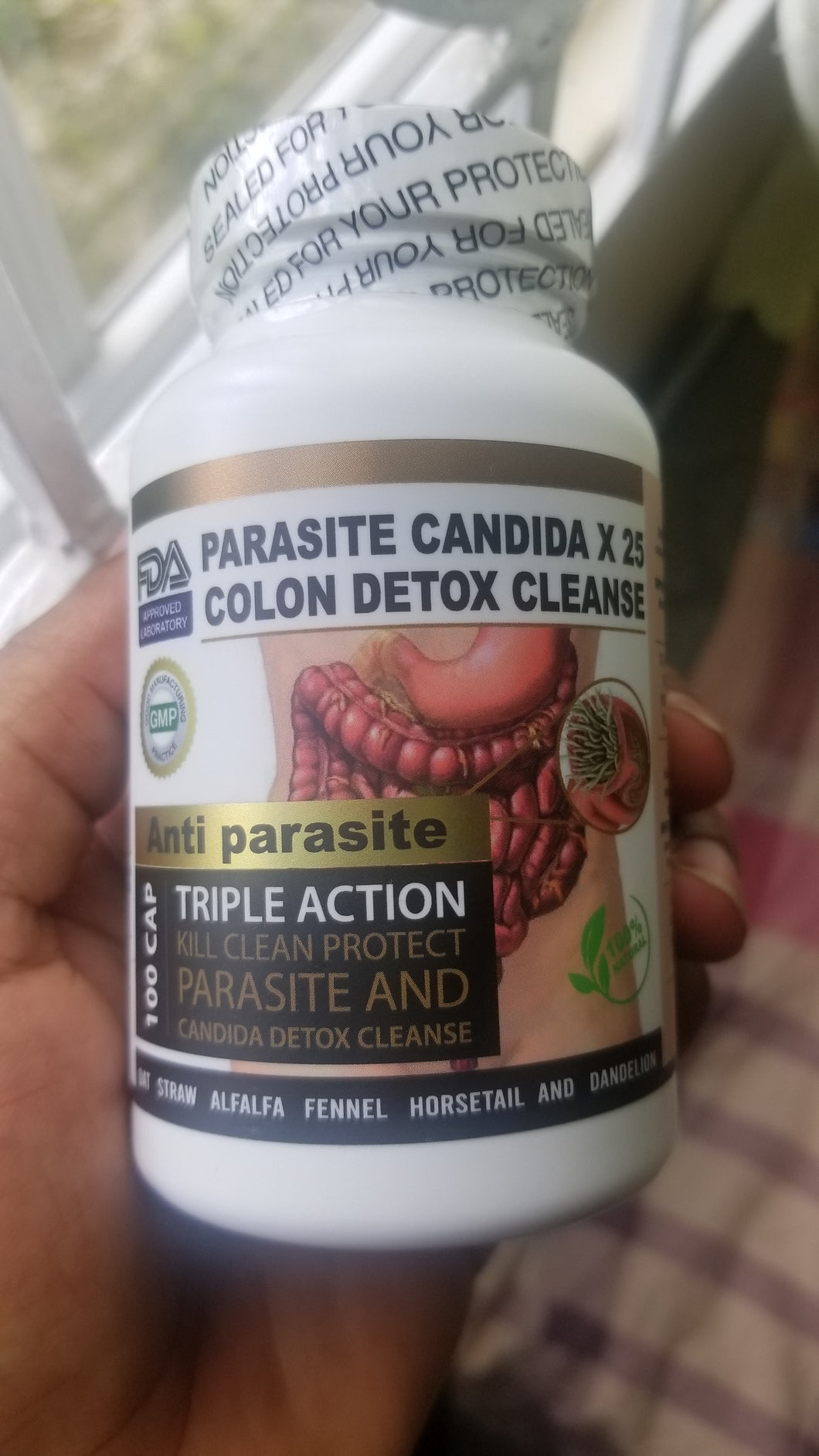 Colon, Candida & Parasite Cleanse 100 veg caps