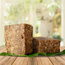 Load image into Gallery viewer, 2 oz Natural Pure Raw African Black Soap, Organic, Unrefined GHANA west Africa