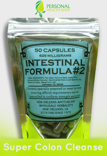 Intestinal Formula Capsules (SUPER COLON CLEANSE*DETOX*)