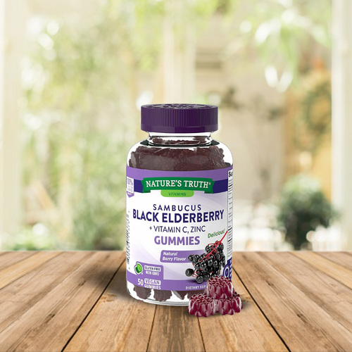 Sambucus Black Elderberry Gummies