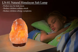 Natural Himalayan Salt Lamp Air Purifier 2lbs