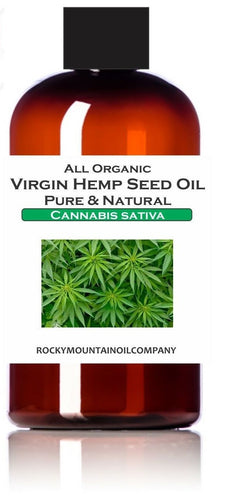 PREMIUM SELECT ORGANIC HEMP SEED OIL PURE & NATURAL 1 2 4 8 16 oz
