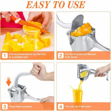 Load image into Gallery viewer, Manual Fruit Juicer/Squeezer