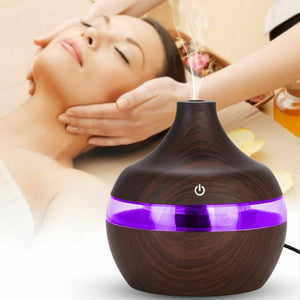 USB LED Humidifier and Aromatherapy Purifier