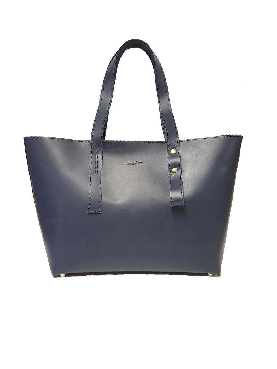 Aurlands Fjell Tote Bag navy