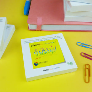 "Sticky-inspirations ""Happy Holidays"" Inspirational Sticky Notes"