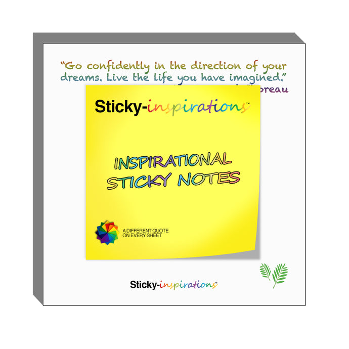 Sticky-inspirations Inspirational Sticky Notes