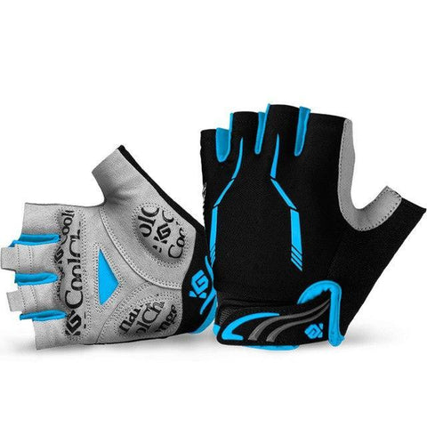 CoolChange OPTIC - Half Finger Cycling Gloves - PeakCrusher