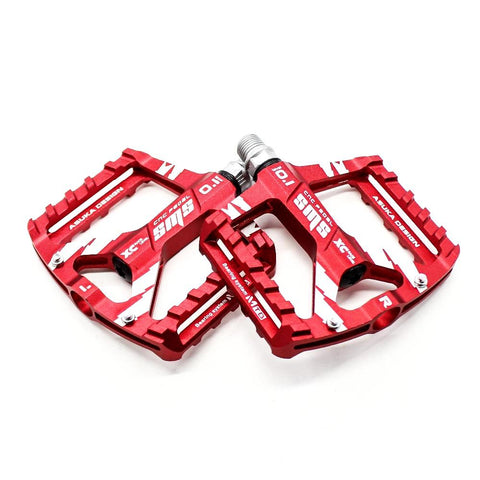 8 Colors Platform Alloy Road Bike Pedals Ultralight MTB Bicycle Pedal Bike Accessories - PeakCrusher