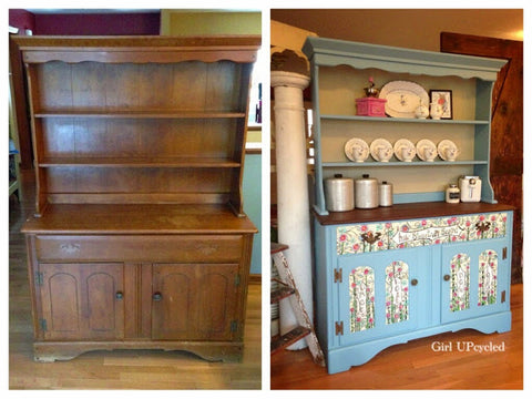 Amazing Grace Before and After Girl UPcycled Studio