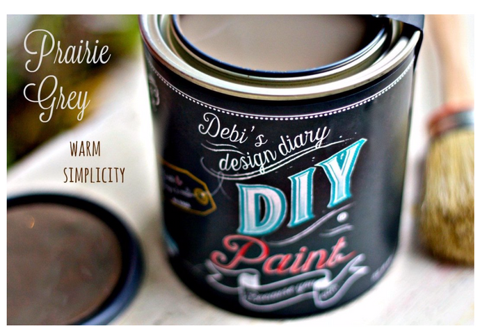 Prairie Gray diy paint