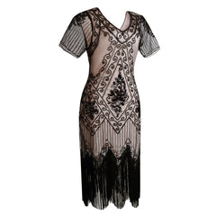 1920s Inspired Dress Great Gatsby Flapper Dresses 20's Themed Party Green|JaosWish