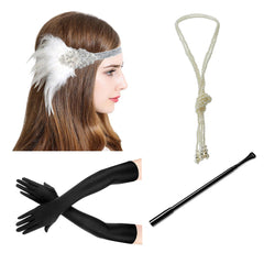 1920s Accessories Great Gatsby Roaring 20s