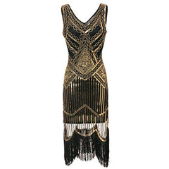 Hem Dance Flapper Dress Art Deco Great Gatsby Themed Uni Party