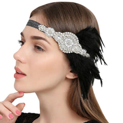 1920s Headband Flapper Headpiece Fascinator