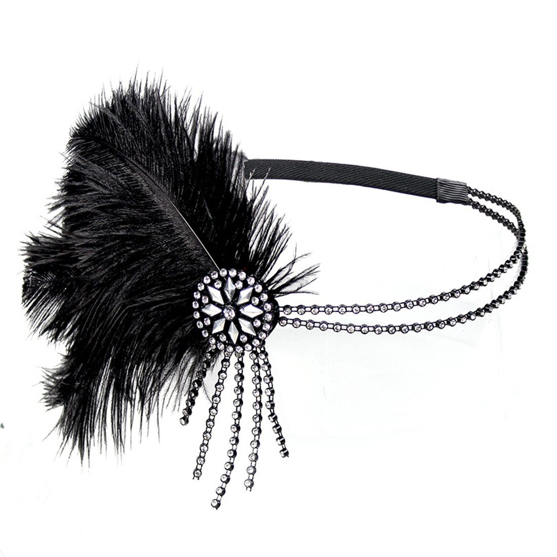 1920s Headpiece Fascinator Headband Flapper Gatsby