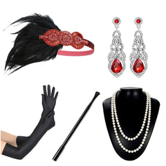 Flapper Costume Accessories Kit