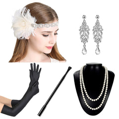 1920s Flapper Costume Accessories