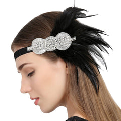 1920s Great Gatsby Flapper Headband