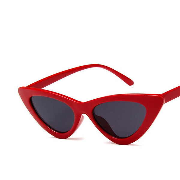 Vintage Narrow Cat Eye Sunglasses for Women