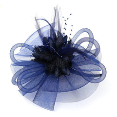 Vintage Mesh Net Wedding Feather Fascinators Headband