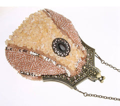 Vintage Style Fully Beaded Handmade Evening Handbag