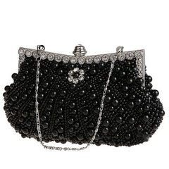 Pearl and Diamond Special Occasion Evening Handbags 1920s